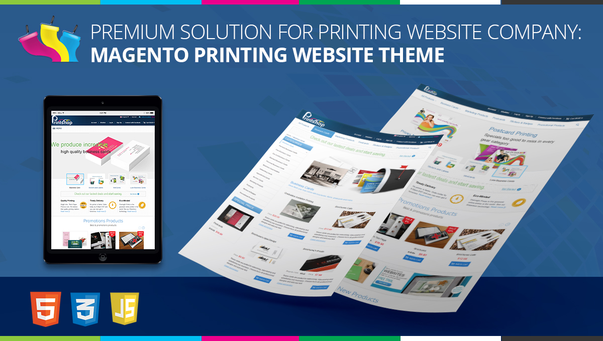 premium solution for printing website company magento printing
