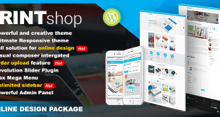 wordpress-printing-theme