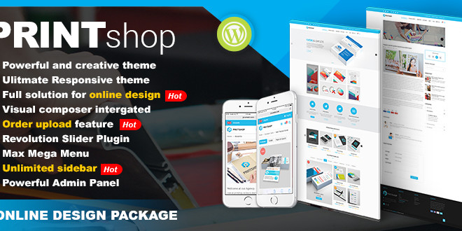 Wordpress Web To Print Solutions With Online Design Tool