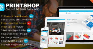 Printshop Wordpress theme