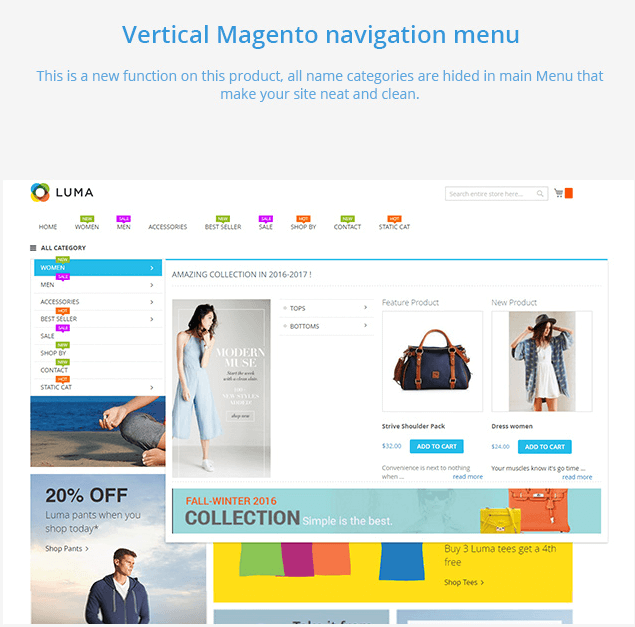 Mega Menu Extension for Magento 2 (3)
