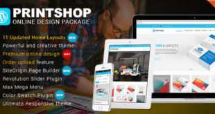 WordPress Printshop online designer package