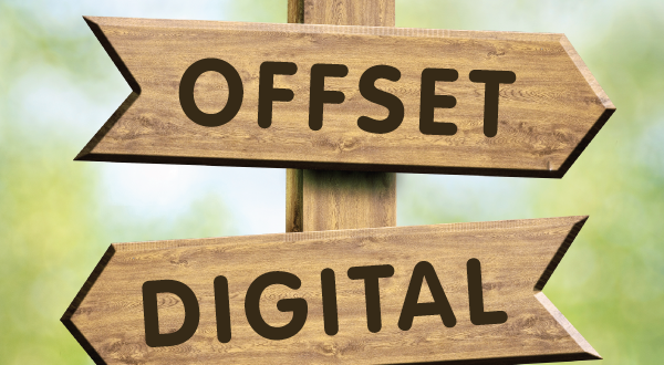 Digital printing continues to take market share from offset printing